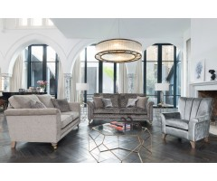 Fleming 4 Seater, 2 Seater and Accent Chair Suite