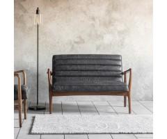 Datsun 2 Seater Sofa Antique Ebony